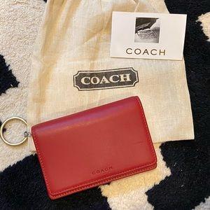 Vintage Coach Mini Leather Wallet